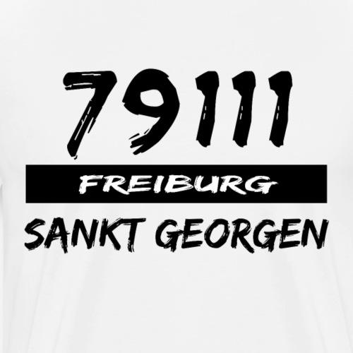 79111 Freiburg Sankt Georgen t-shirt - Männer Premium T-Shirt