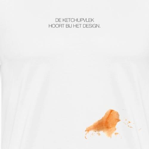 Ketchupvlek - Mannen Premium T-shirt