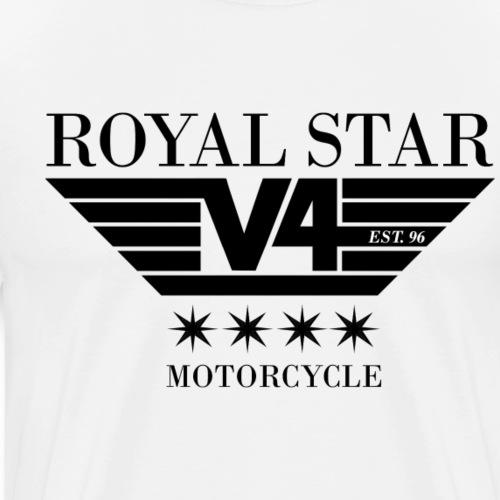 ROYAL STAR V4 LOGO est.96 - Männer Premium T-Shirt