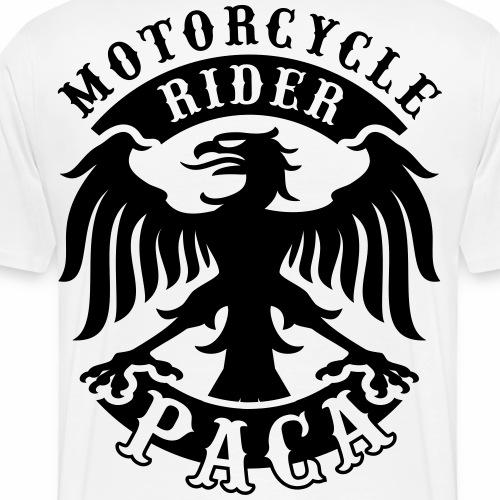 Motorcycle Rider Provence-Alpes-Côte d'Azur 'Flag' - T-shirt Premium Homme