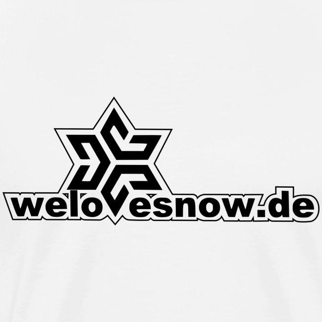 welovesnow logo black ohn