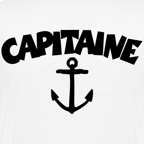 Capitaine Anker Kapitän Segler Segeln Segel - Männer Premium T-Shirt