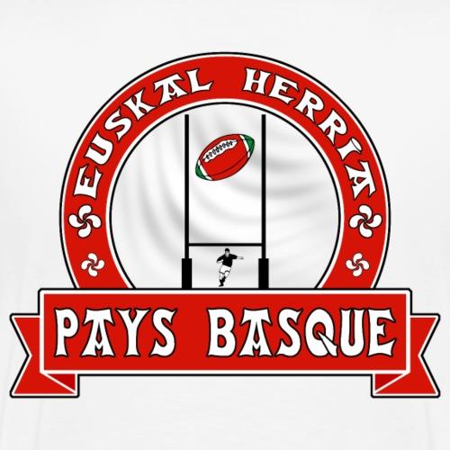 Pays Basque sport rouge - T-shirt Premium Homme