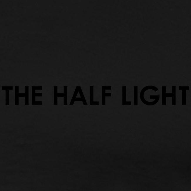 The Half Light Logo bw