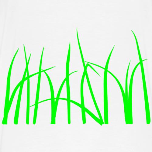Grass - Premium-T-shirt herr