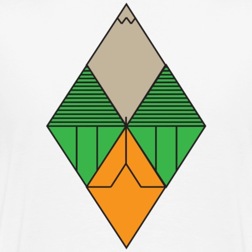 Diamond Graphic - Men's Premium T-Shirt