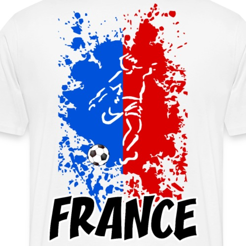 Football tricolore - Men's Premium T-Shirt