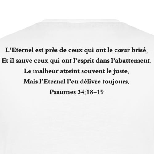 Psaumes 34:18-19 - T-shirt Premium Homme