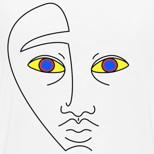 Blue eyes - T-shirt Premium Homme