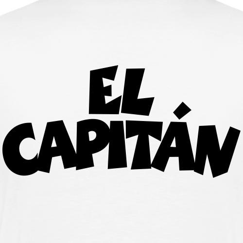El Capitán Kapitän Segeln Segler - Männer Premium T-Shirt