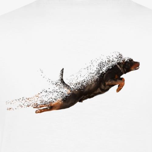 Flying Rottweiler - Mannen Premium T-shirt