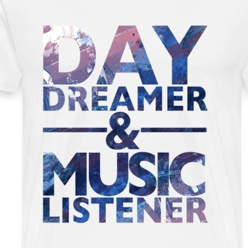 daydreamer Musiclistener32 png - Männer Premium T-Shirt