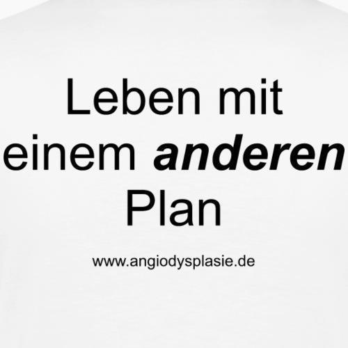 Sloagan Schwarz - Männer Premium T-Shirt