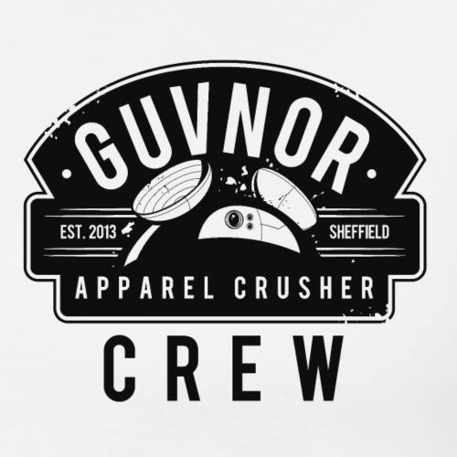 Crusher Crew - Women's Longsleeve T-Shirt White - Men's Premium T-Shirt