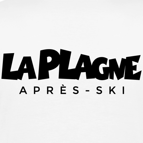 La Plagne Après-Ski - Männer Premium T-Shirt