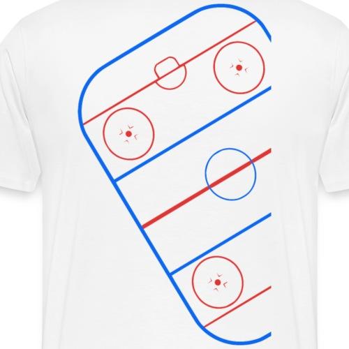 eishockey court4 - Männer Premium T-Shirt