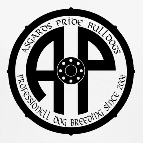 Logo 2019 Schwarz - Männer Premium T-Shirt