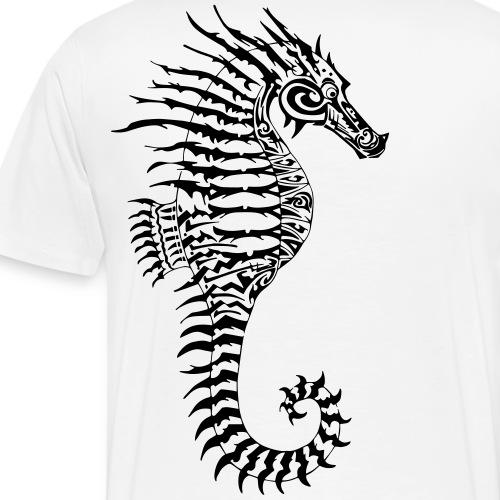 Alien Seahorse Invasion - Men's Premium T-Shirt