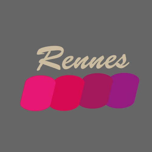 Rennes, fier - T-shirt Premium Homme