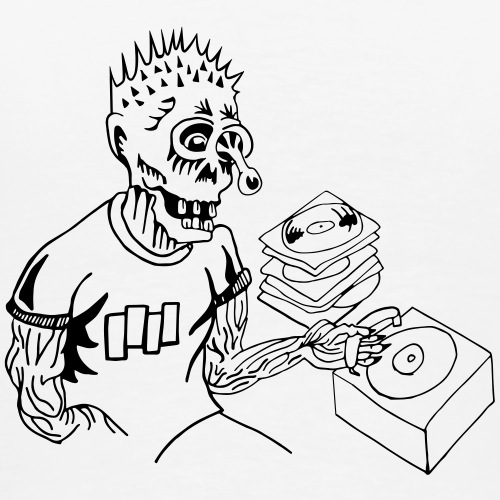 craig, the punk head - Men's Premium T-Shirt
