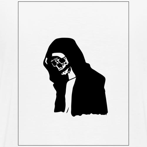 the sad skull - Men's Premium T-Shirt