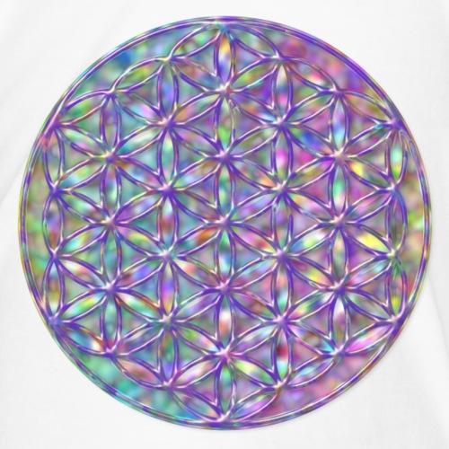 Blume des Lebens Regenbogen 3D