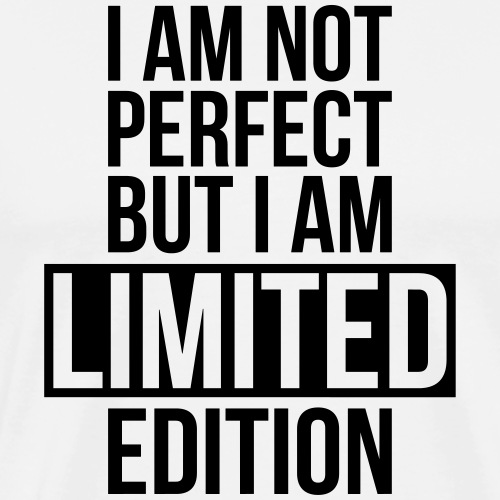 iam not perfect - T-shirt Premium Homme