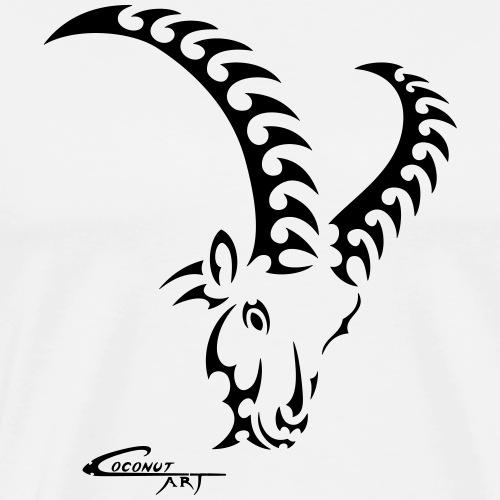 Sternzeichen Steinbock - Männer Premium T-Shirt