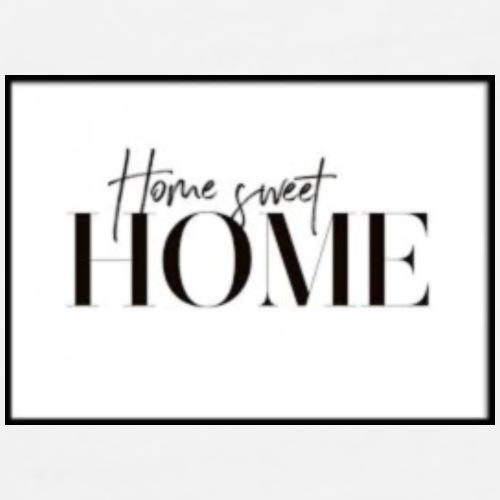 home sweet home - Herre premium T-shirt