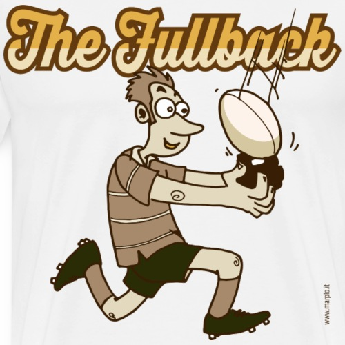 Fullback_Marplo_mug - Maglietta Premium da uomo