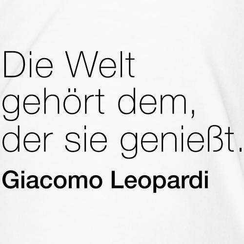 Giacomo Leopardi - Männer Premium T-Shirt