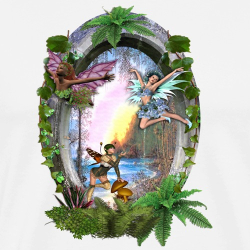 Fairy kingdom stories - Men's Premium T-Shirt