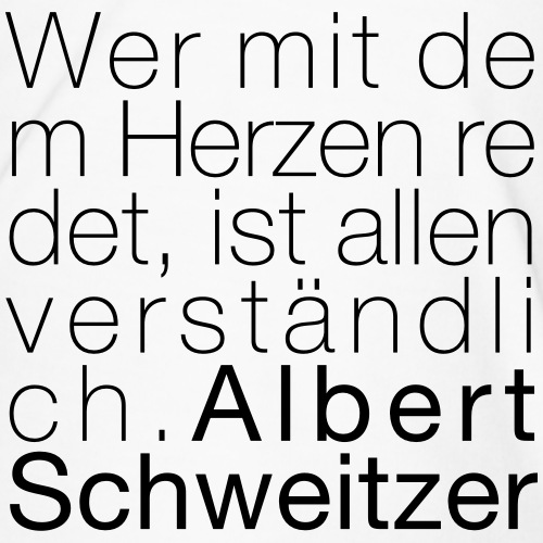 Albert Schweitzer - Männer Premium T-Shirt