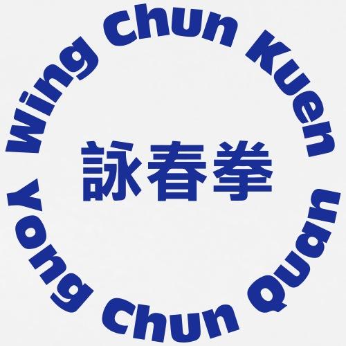 WCAA Wing Chun - Premium-T-shirt herr