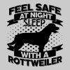 Zich veilig voelen in de nacht - Rottweiler - Mannen Premium T-shirt