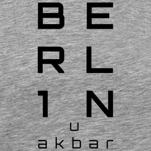 BERLIN u akbar - Men's Premium T-Shirt