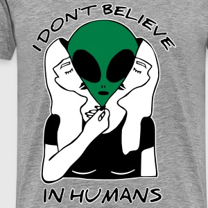 I dont believe in Humans - Männer Premium T-Shirt