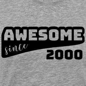 Awesome since 2000 / Birthday-Shirt - Men's Premium T-Shirt