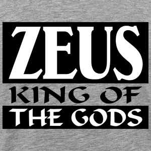 Zeus _-_ King_Of_The_Gods - Premium-T-shirt herr