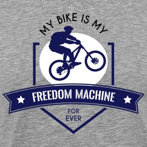 Freedom Machine - Premium T-skjorte for menn
