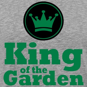 King of the Garden - Herre premium T-shirt