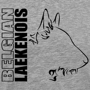 BELGIAN LAEKENOIS PROFILE - Men's Premium T-Shirt