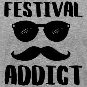 Festival addict - Men's Premium T-Shirt