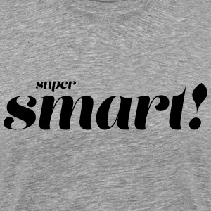 Super Smart - Premium-T-shirt herr