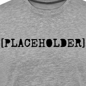 [Placeholder} - Premium T-skjorte for menn