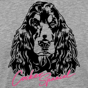 COCKER SPANIEL - Men's Premium T-Shirt