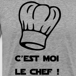 I am the chef ! Chef's Hat - Men's Premium T-Shirt