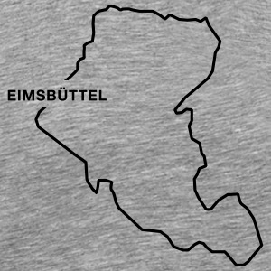 Eimsbüttel Border - Men's Premium T-Shirt