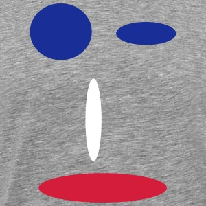 tricolor - Premium T-skjorte for menn