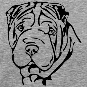 SHAR PEI PORTRAIT - Men's Premium T-Shirt